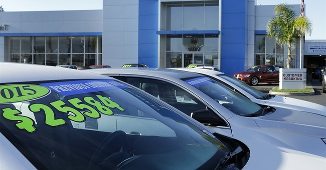 October US sales fall as auto boom slows