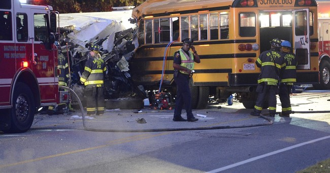 The Latest: Bus company says it's cooperating with officials
