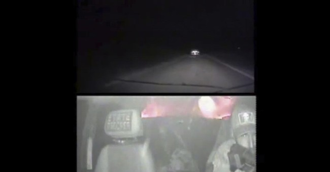 Video shows police firing at Oklahoma fugitive during chase