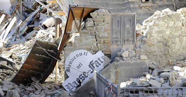 'We've returned to the stone age': Quake levels Italian town