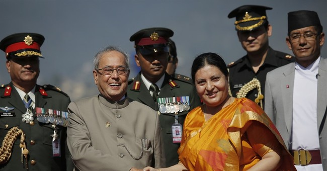 Indian president arrives in Nepal for 3-day visit