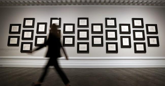 Nobel laureate Bob Dylan's artwork in major London show