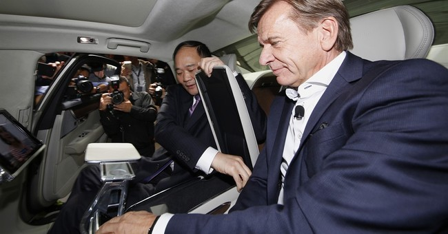 Geely, Volvo target world market with China-built luxury car