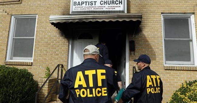 Miss. fire chief: Blaze at African-American church was arson