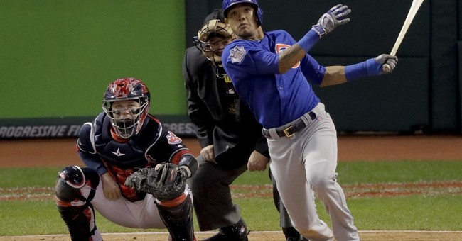 The Latest: Cubs win first World Series title since 1908