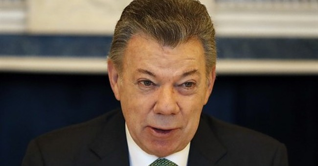 UK, Colombia sign oil deal during Santos' state visit
