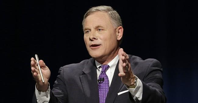 Unlike other vulnerable GOP senators, Burr embraces Trump