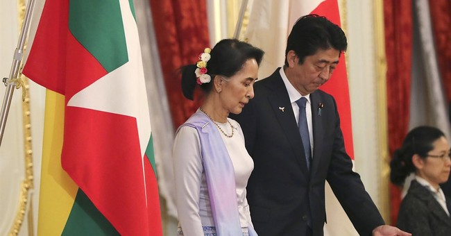 Suu Kyi in Japan as Myanmar faces pressure on Rohingya