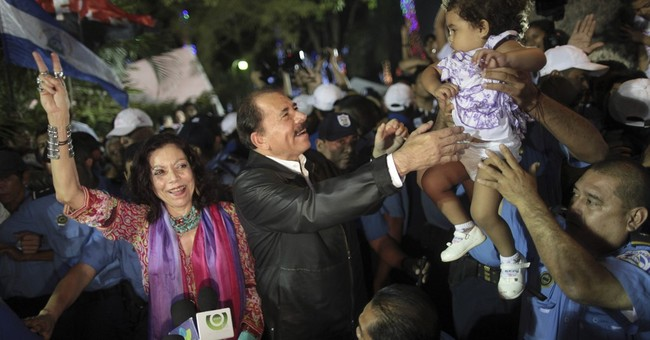 Nicaragua president's running mate: his wife