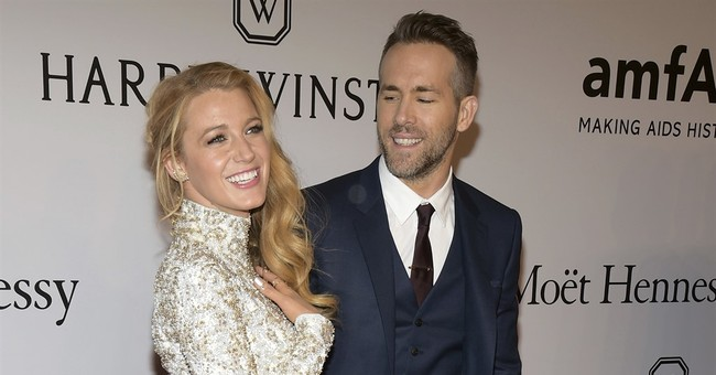 Ryan Reynolds reveals gender of new baby with Blake Lively