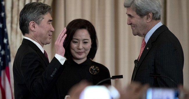 Former US envoy to NKorea becomes ambassador to Philippines