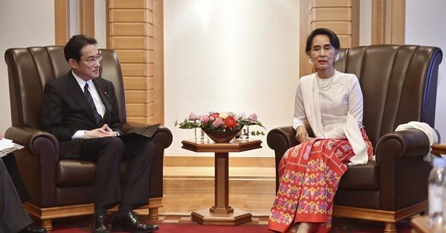Suu Kyi says Myanmar dealing with Rakhine under rule of law