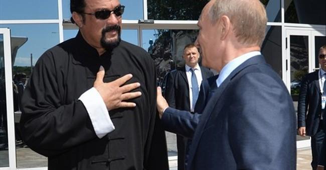 Putin grants Russian citizenship to actor Steven Seagal