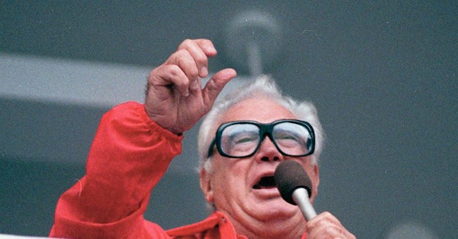 Harry Caray, this Bud's for you.