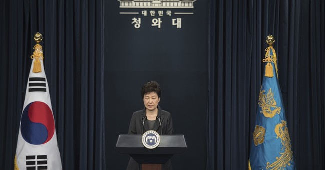 The Latest: S. Korea leader denies 'shamanistic' rituals