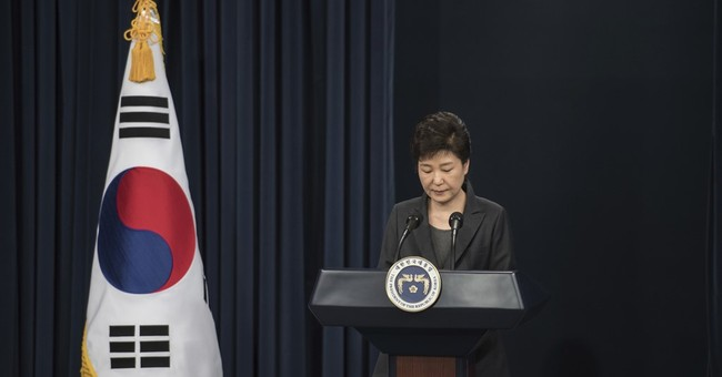 Park's speech had exceedingly personal, astonishing moments