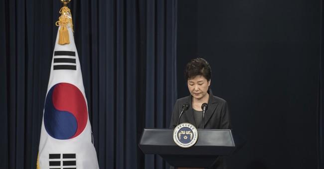 Park's speech had exceedingly personal, astonishing moments