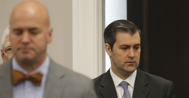 The Latest: Court adjourns first day of Michael Slager trial