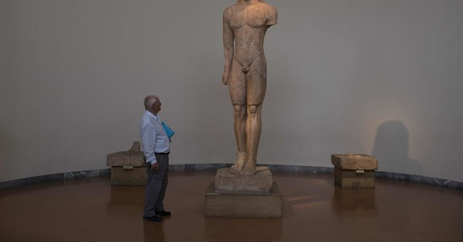 AP PHOTOS: Greek museum's birthday show packed with history