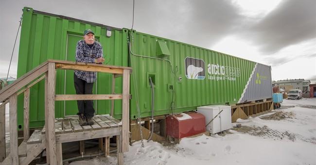 Correction: Arctic Farming story