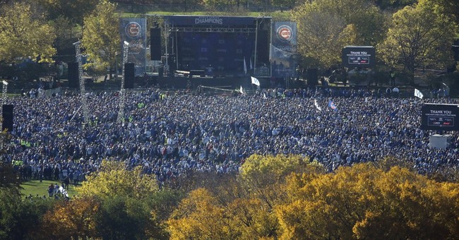 Latest: City says 5 million attend Chicago Cubs celebration