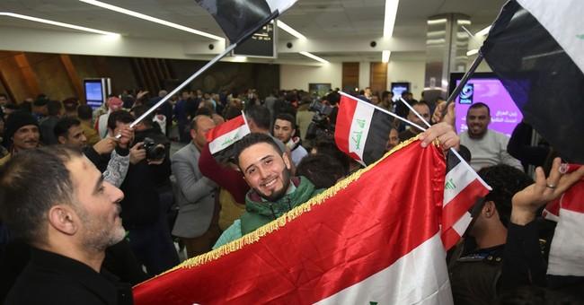 Iraqis rally around Olympic football team after Qatar win