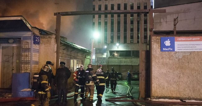 Fire at Moscow workshop kills 12 people, including 3 kids