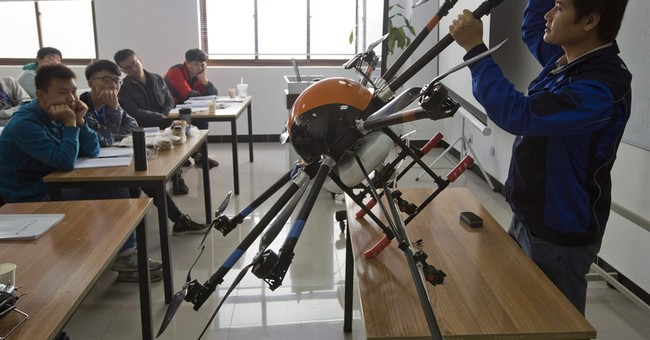 Drone schools spread in China to field pilots for new sector