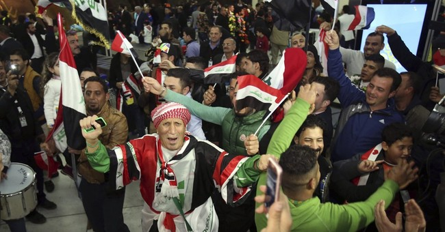 Iraqis rally around Olympic football team after Qatar win