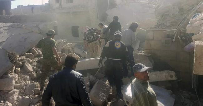 Insurgent offensive in Aleppo kills dozens of civilians