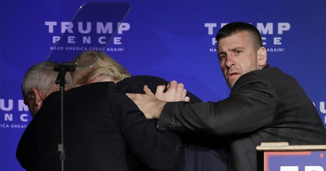 Secret Service says no gun involved in Trump rally commotion