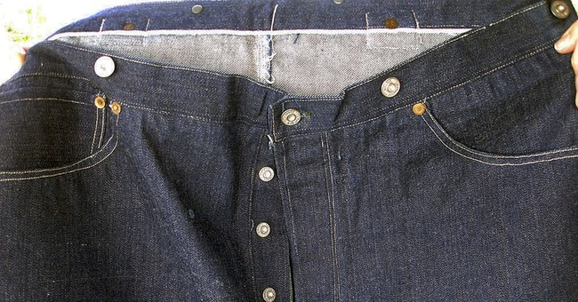 Technical glitches delay auction of 123-year-old jeans