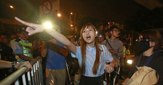 The Latest: US upset over China's Hong Kong intervention