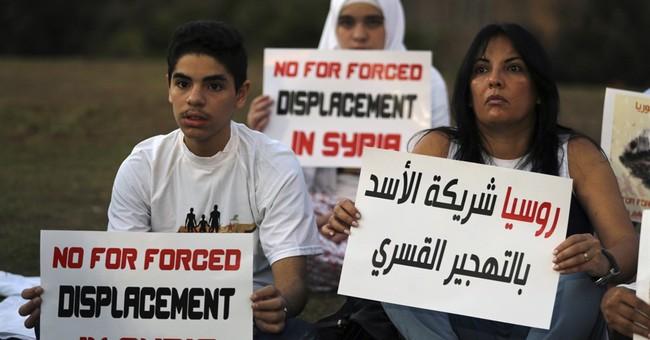 Displaced Syrians fear return, marking a demographic shift