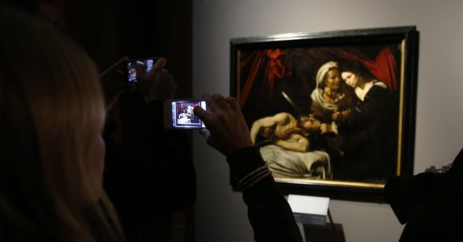 Disputed Caravaggio discovered in France on display in Milan