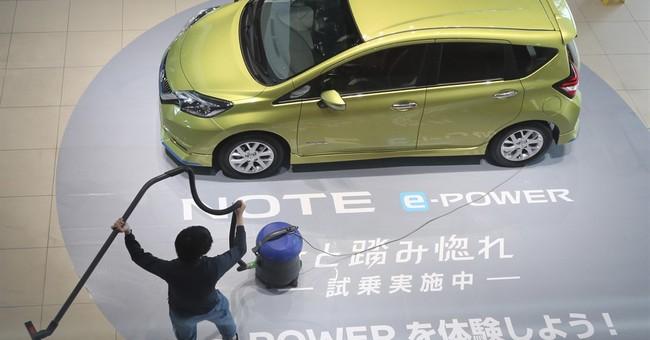 Nissan's quarterly profit falls on weak Japan sales, yen