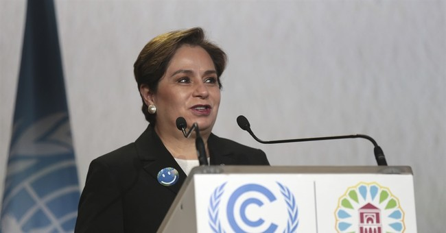 UN climate chief: No doubt world will shift to low emissions