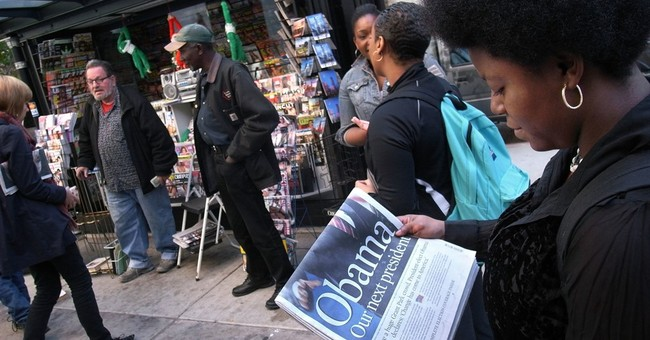 Print newspapers are dead? Not after historic elections