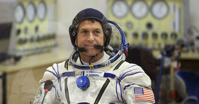 'I voted from space': Lone American off planet casts ballot