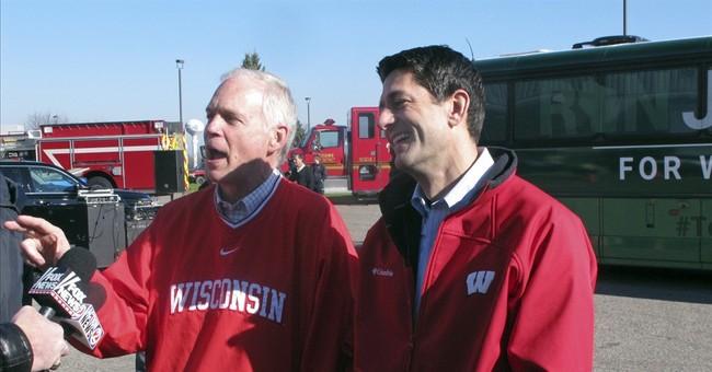 Johnson, Feingold make last push before election