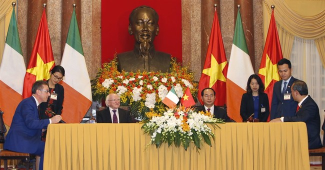 Vietnam, Ireland agree to cooperation on education, energy