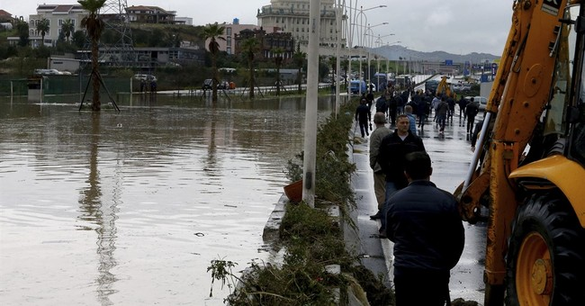 Heavy rains swell rivers in parts of Balkans