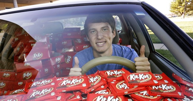 College student has Kit-Kat stolen, company sends 6,500 more
