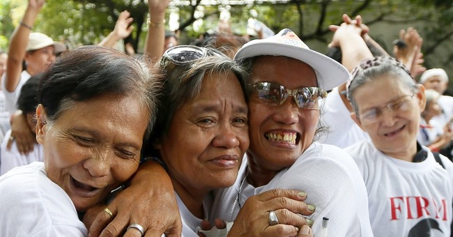 Court says dictator Marcos can be buried at heroes' cemetery