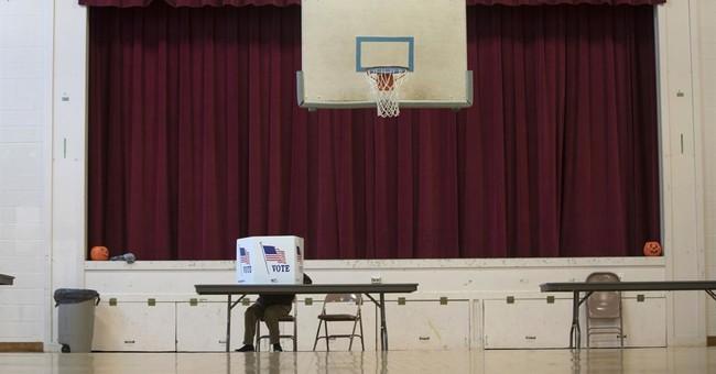 AP PHOTOS: Americans cast ballots for their next president