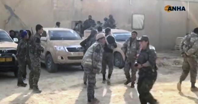 The Latest: Airstrikes in Syria kill 21 civilians