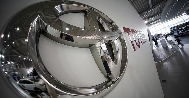 Strong yen sends Toyota's quarterly profit sinking 36 pct