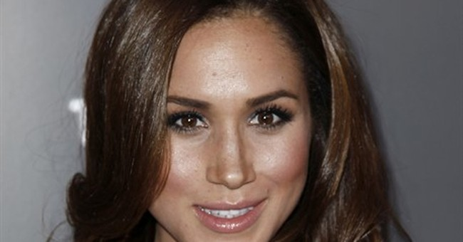 A snapshot of Meghan Markle, Prince Harry's girlfriend