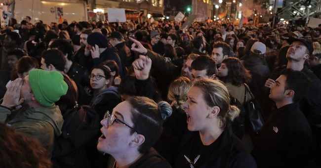 Thousands protest Trump win around US