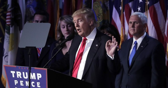 Trump vows to unify a deeply divided nation